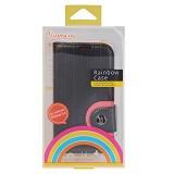BASEUS Rainbow Case Samsung Galaxy S4 [LTSAI9500-RW01] - Black - Casing Handphone / Case